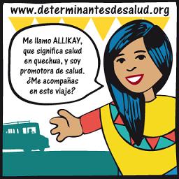 la protagonista allikay  te invita a sequier la campaña